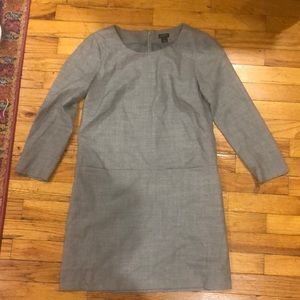 Gray Wool J. Crew Factory Mini Dress